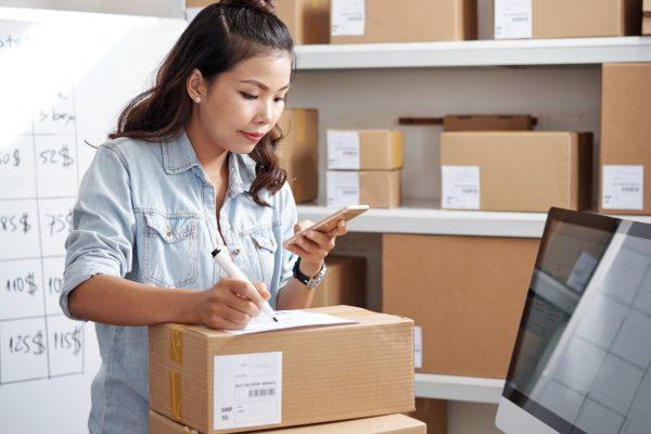E-commerce com Correios